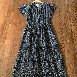 Misa LA black and white dress size small